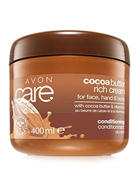 Avon Kakao Yağı Yüz, El Ve Vücut Kremi 400 Ml. Renkli